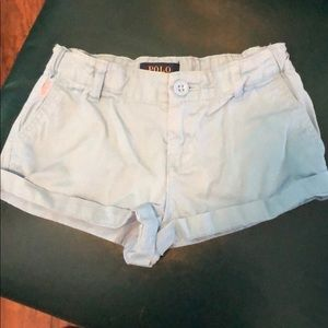 Lil girl polo shorts